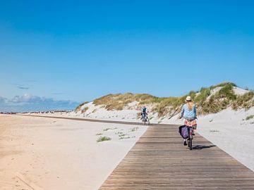 Strandpad aan de Noordzee in Sankt Peter-Ording van Animaflora PicsStock