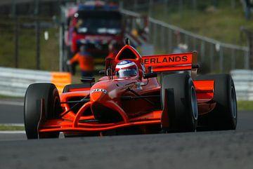 Raceauto A1GP op Zandvoort van Michel Postma