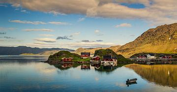 Gehucht op Magerøya, Noorwegen van Adelheid Smitt