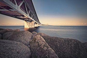 Pont de l'Oresund. Relie la Suède au Danemark. sur