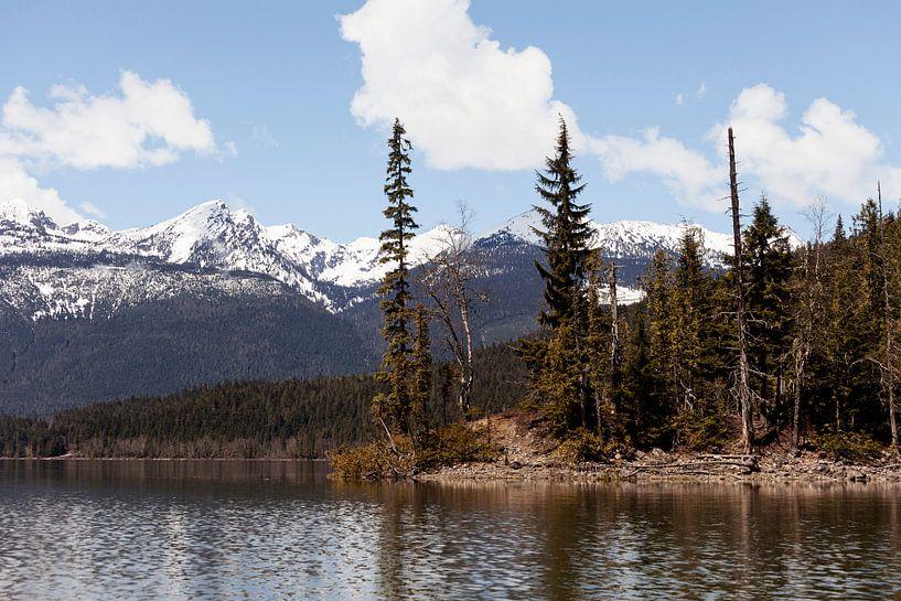Lake in Canada van Irene Hoekstra