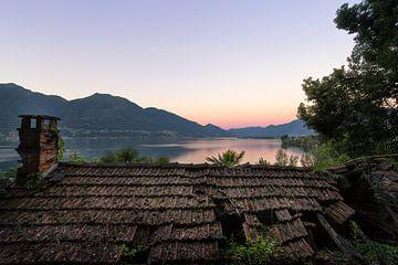 zonsopkomst in zwitserland van