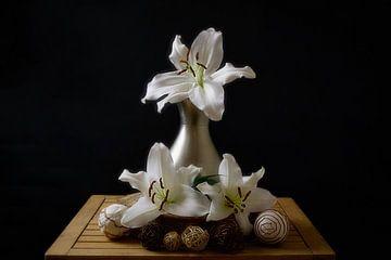 Stilleben der Lilie 3 von Wendy Tellier - Vastenhouw
