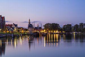 Haven Hoorn in de avond