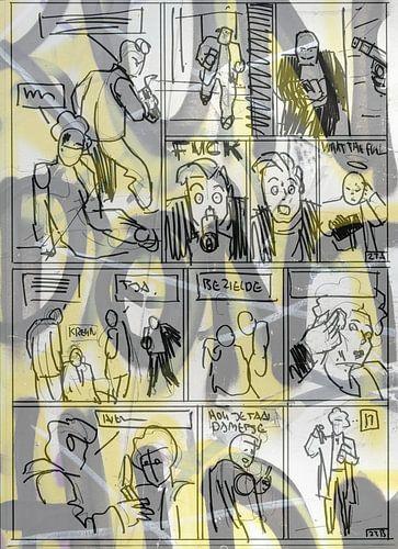 Strip Splinter Goes Urban (Schets p23-1) van