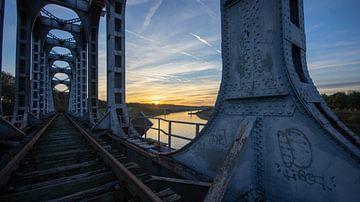 De oude treinbrug van Geert den Tek