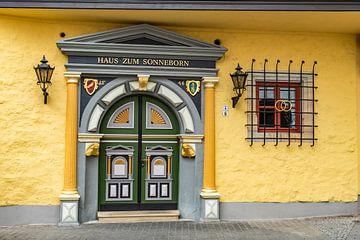 Haus zum Sonneborn in Erfurt, Deutschland von Gunter Kirsch