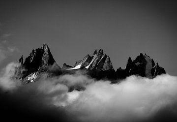 Aiguilles De Chamonix sur