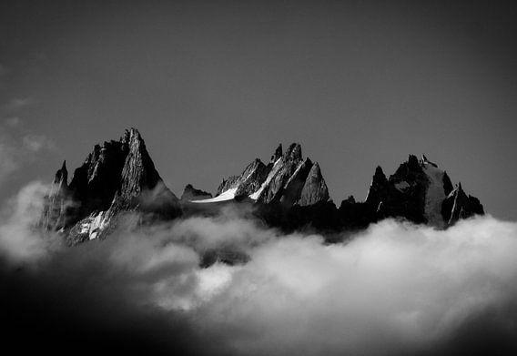Aiguilles De Chamonix sur menno visser