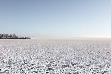 Uitzicht over Gouwzee van Johan Zwarthoed