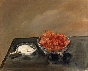 Aardbeien - Max Slevogt, 1903 van Atelier Liesjes