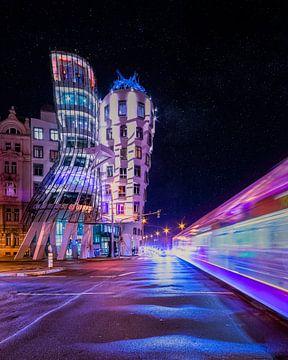 Das tanzende Haus von Prag von Dennis Donders