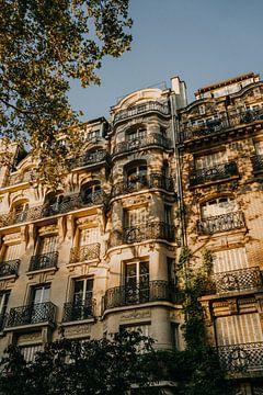 Sonnenuntergang in Paris von Lauri Miriam van Bodegraven