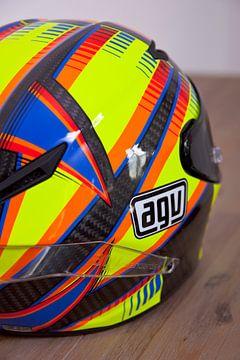 Valentino Rossi helm  AGV van Ralph van Houten