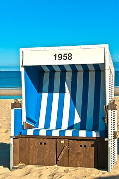 Sylt: strandstoel No. 1958 van Norbert Sülzner