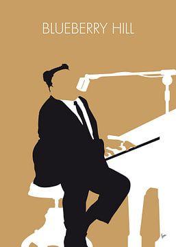 No190 MY Fats Domino Minimal Music poster van Chungkong Art
