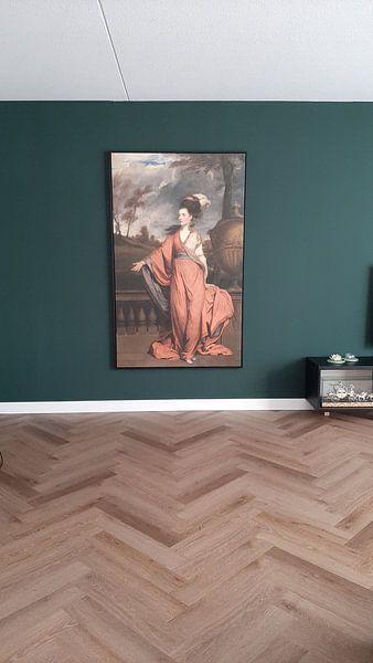Klantfoto: Jane Fleming, gravin van Harrington, Sir Joshua Reynolds