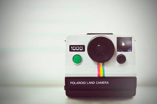 Retro Vintage Polaroid land camera 1000 Photo print Wall art