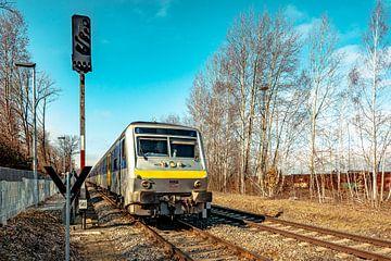 RE 6  Leipzig - Chemnitz von Johnny Flash