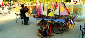Bootjes verhuur in Parijs van Frans Jonker