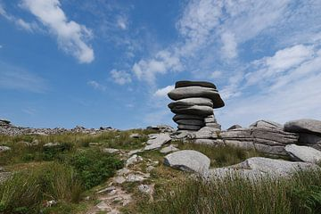 Cheesewring, Stowe's Hill, Minions, Bodmin Moor, Cornwall, Großbritannien von Jörg Hausmann