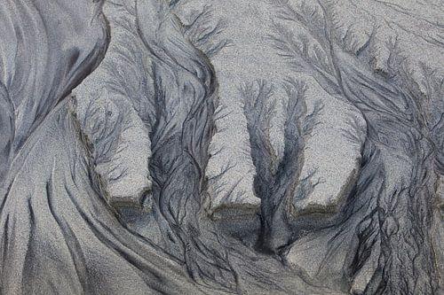 zandsculpturen, tekening van