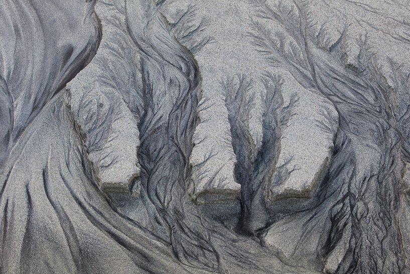 zandsculpturen, tekening van Karin Broekhuijsen
