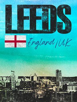 Leeds England von Printed Artings