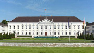 Palais Bellevue, résidence officielle du président fédéral allemand, quartier du gouvernement, Berli sur Torsten Krüger