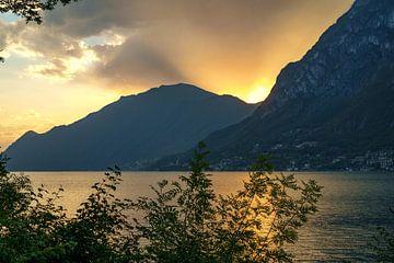 Lugano Meer sur Erol Cagdas