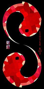 Feng Shui - Kleine koikarper van Christine Nöhmeier