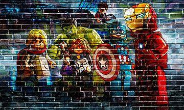 LEGO Marvel Wand-Graffiti-Sammlung 3 von Bert Hooijer