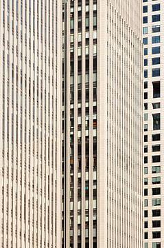 Flächenmassive Wolkenkratzer Geschäftsviertel von Tony Vingerhoets