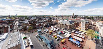 Panorama Groningen (binnenstad) von Frenk Volt