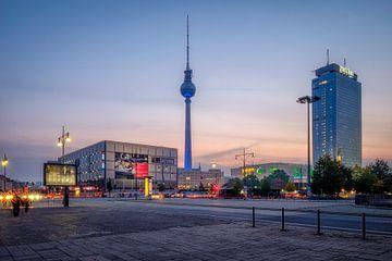 Alexanderplatz, Berlijn van Johan Vanbockryck