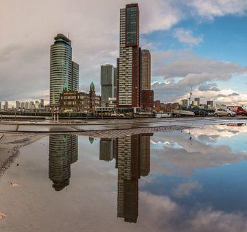 Kop van zuid Rotterdam sur Ilya Korzelius