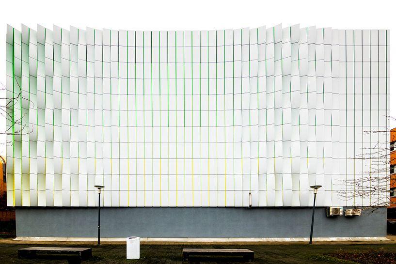 Fassade in Groningen von Maerten Prins