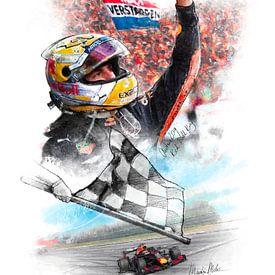 Max Verstappen - Grand Prix Oostenrijk 2019 van Martin Melis