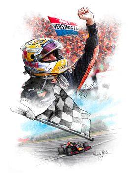 Max Verstappen - Grand Prix Österreich 2019 von Martin Melis