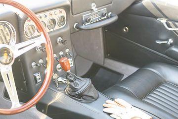 Lamborghini 350 GT klassiek Italiaans Gran Turismo sportwagen interieur van Sjoerd van der Wal