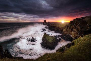 Sturm in Island von Roy Poots