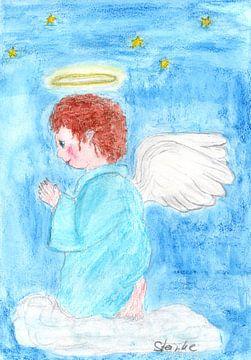 Der betende Engel von Sandra Steinke
