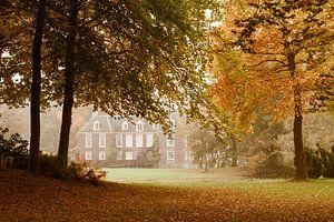 Herfst bij het kasteel de Wiersse van Ada Zyborowicz