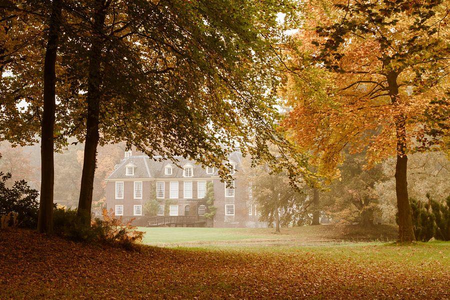 Herfst bij het kasteel de Wiersse