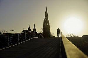 Sonnenuntergang in Freiburg