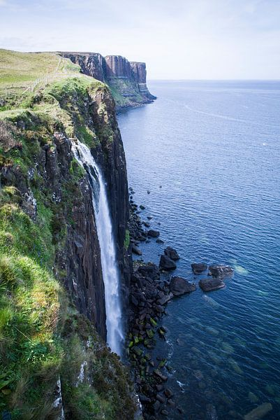Kilt Rock and Mealt Falls van Eriks Photoshop by Erik Heuver