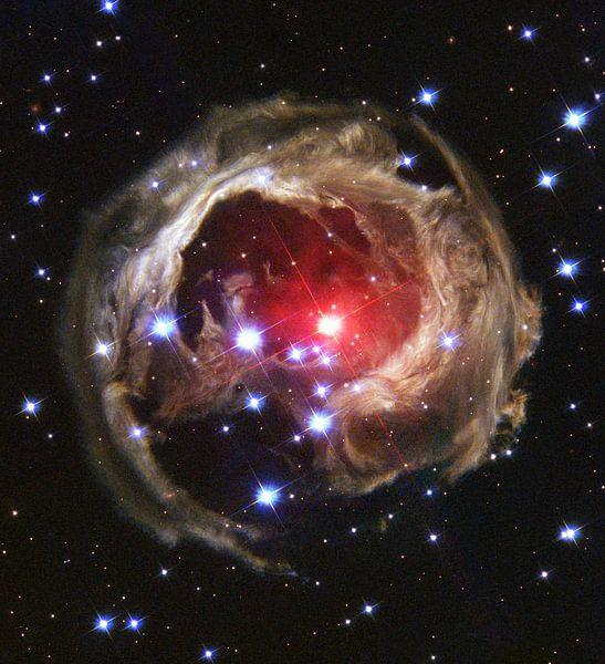 Space Nebula photo made with Hubble van Brian Morgan