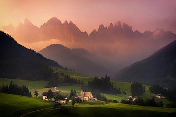Val Di Funes sunrise von Albert Dros