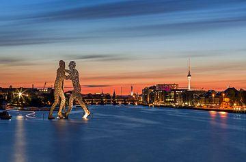 Le port de Berlin-Est sur Frank Herrmann