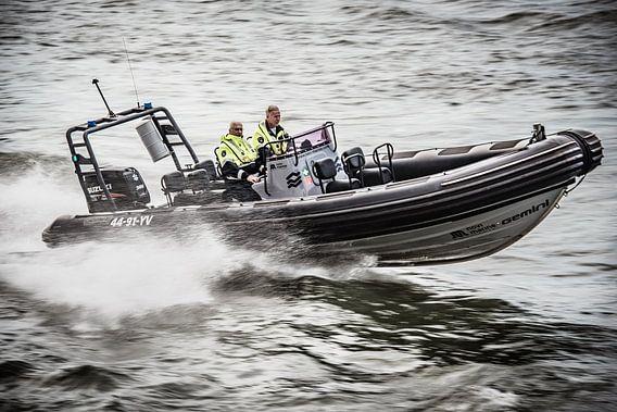 Politie Speedboot van Photobywim Willem Woudenberg